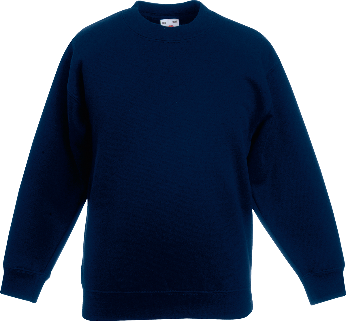 Navy School Sweatshirt | Fashion Ql