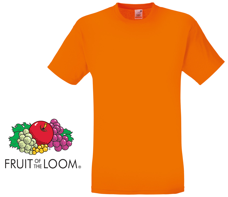 fruit of the loom screen stars classic t shirt orange. Black Bedroom Furniture Sets. Home Design Ideas