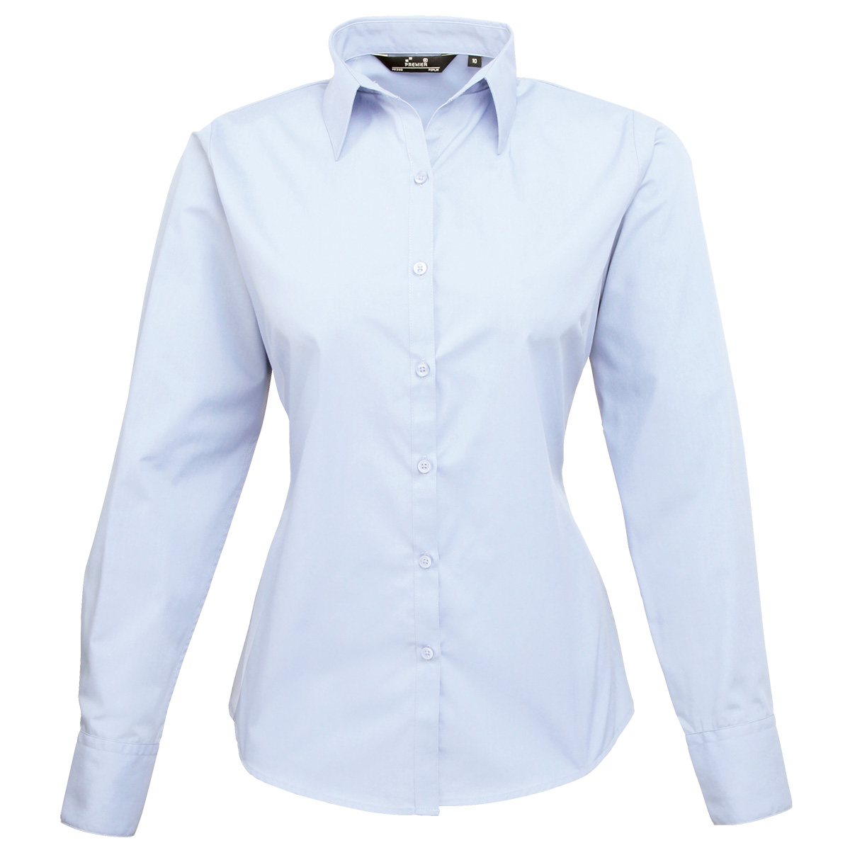 Light Blue Blouse | Fashion Ql