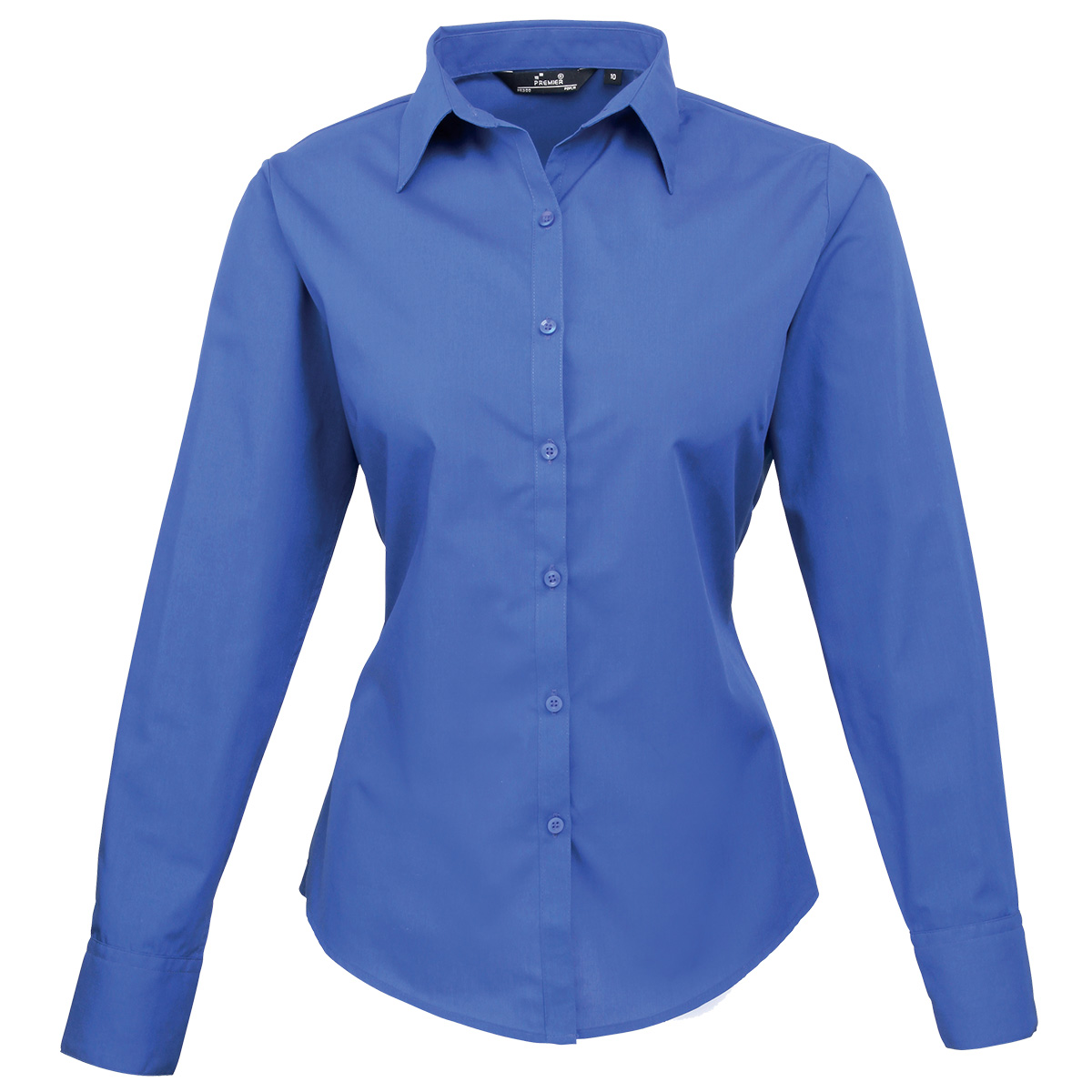 Women'S Royal Blue Blouse 65